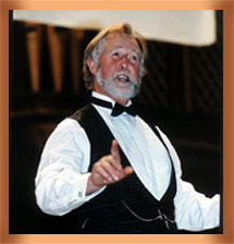 photo of Benjamin Luxon performing